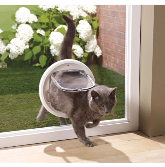 Pose de vitrage pour chatière